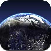 تطبيق الكرة الارضية