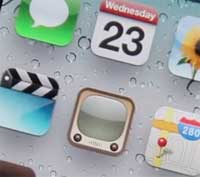 مسح أسماء التطبيقات عن الشاشة بنسخة iOS5