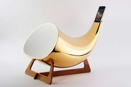 جهاز MegaPhone - لتقوية صوت الايفون بطريقة تقليدية