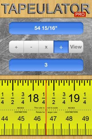 تطبيق Tapeulator للحسابات المعقدة