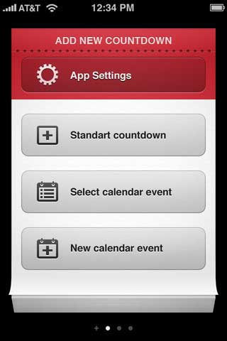 تطبيق Countdown Me