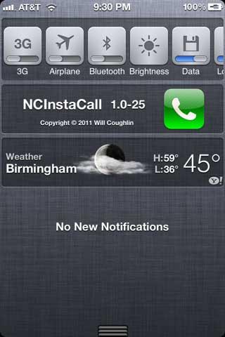 أداة NClnstaCall