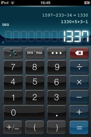 تطبيق Calculator HD+