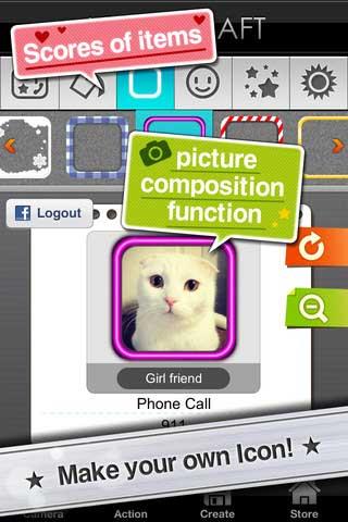 تطبيق Icon Craft لتصميم الإيقونات