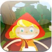 صورة جديد التطبيقات: تطبيق قصة ذات الرداء الأحمر للأطفال للايفون والايباد