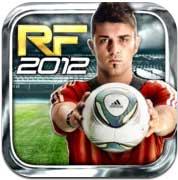صورة لعبة Real Football 2012 من شركة جيم لوفت تظهر مجانا للايفون والايباد
