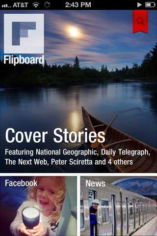 تطبيق Flipboard