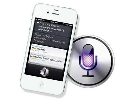 السيديا: أداة جديدة للأيفون 4 أس للتعليمات الصوتية