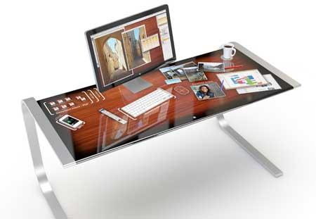 iDesk - طاولة تكنولوجية فكرة تنتظر التحقيق