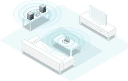 مكبر صوت جديد يشغل سماعاتك مع AirPlay