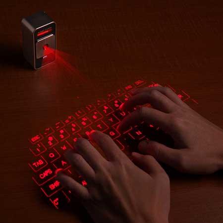 لوحة مفاتيح ليزر افتراضية للأيفون والايباد