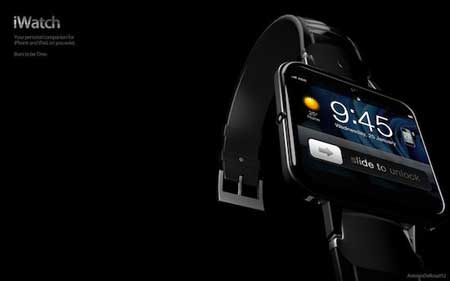 فكرة: ساعة يد تشبه جهاز الايفون بعروضها