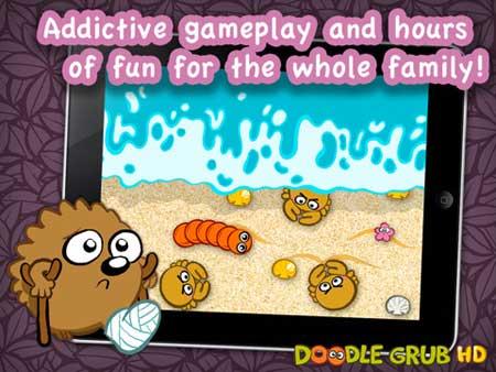 لعبة Doodle Grub HD