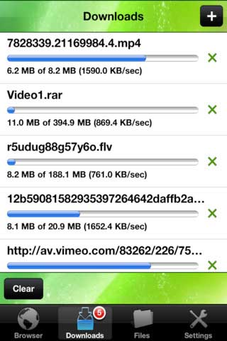 تطبيق iDownload Plus لتحميل البرامج