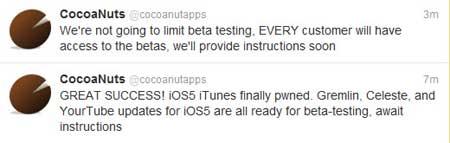 قريبا ترقية Celeste وYourtube لتتوافق مع iOS 5