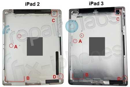 صور لغلاف الايباد 3 تكشف بعد التغييرات في الجهاز