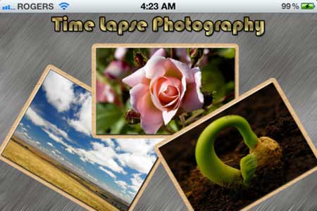 تطبيق Time Lapse Photography
