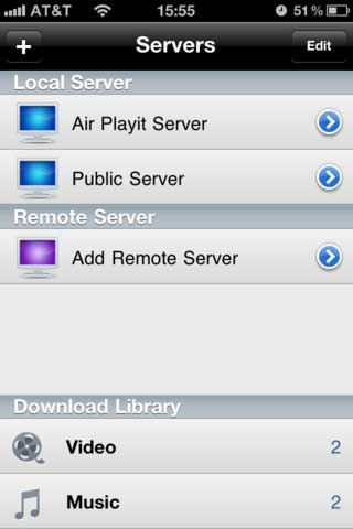 تطبيق Air Playit