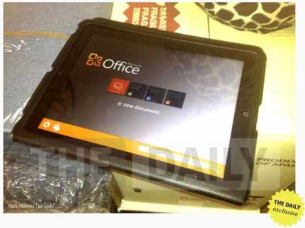 برنامج الاوفيس جاهز للتثبيت على جهاز الايباد قريبا