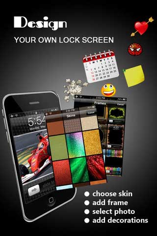 تطبيق Lock Screen Designer Free