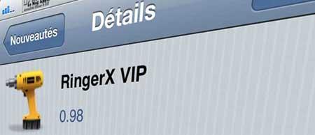 أداة RingerX VIP