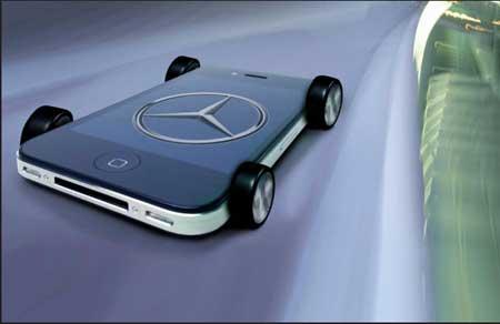 تقنية سيري تلتحق بسيارة المرسيدس الجديدة