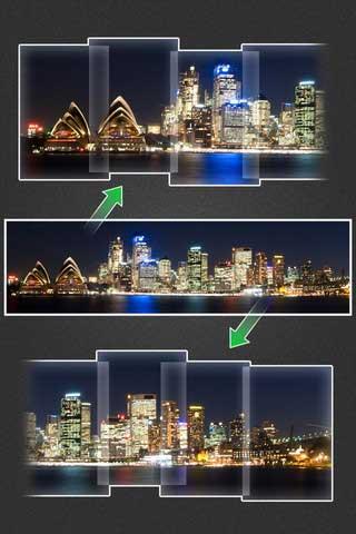 تطبيق لالتقاط الصور البانورامية