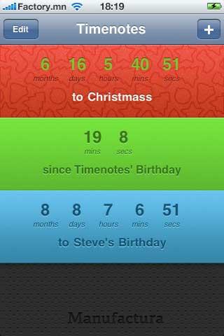 تطبيق TimeNotes