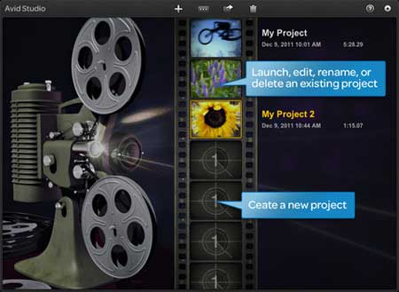 تطبيق Avid Studio لتحرير الأفلام للايباد