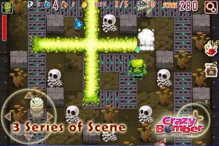 لعبة Crazy Bomber