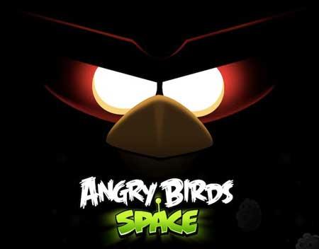عالم فضاء يروج للعبة الطيور الغاضبة في الفضاء