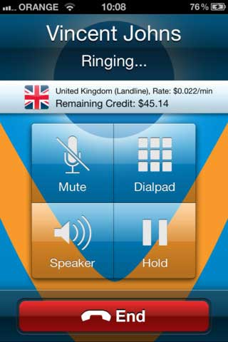 تطبيق Vonage Mobile