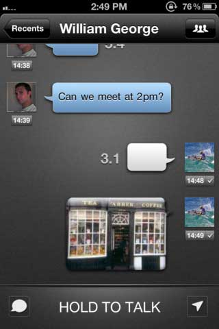 تطبيق TalkBox