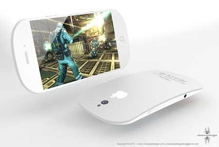 رؤية - هل سيكون تصميم الايفون 5 بهذا الشكل ؟