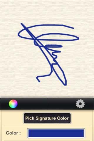 تطبيق Signature لتوقيع المستندات عبر الجهاز