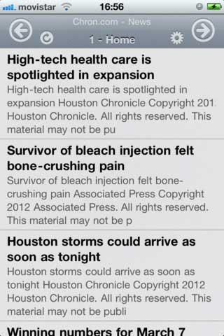 تطبيق RSS News لمطالعة الأخبار