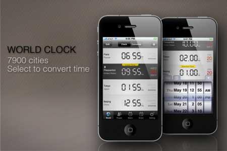 تطبيق Timezone Clock