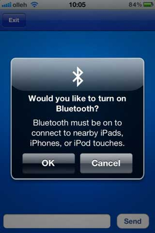 تطبيق Bluetooth OnOff