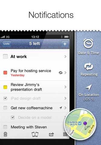 تطبيق Pocket Lists