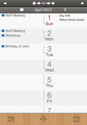 تطبيق DAYLINE لترتيب المهام والأحداث