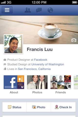 تطبيق الفيسبوك