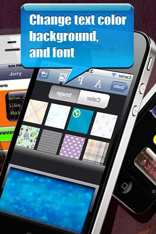 تطبيق Color Message Pro