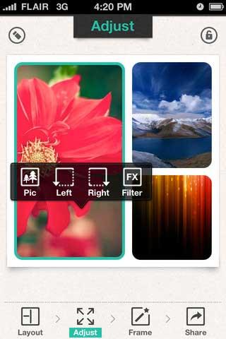 "تطبيق ""Photo Frame &FX"" اطارات للصور"