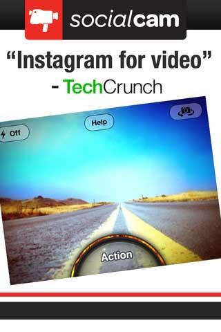 تطبيق Socialcam Video Camera مجانا