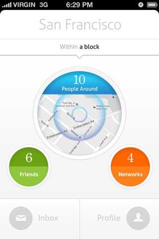 تطبيق Circle – Who`s Around You