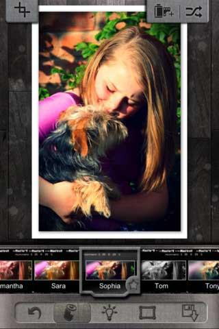 تطبيق Pixlr-o-matic للتصوير