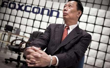 """تيري جاو - رئيس شركة """"فوكسكون"""""""