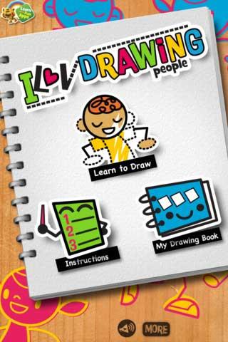 تطبيق iLuv Drawing People