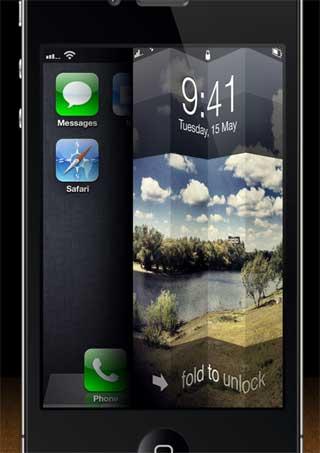 قريبا في السيديا: طريقة جديدة لفتح شاشة الايفون المقفلة