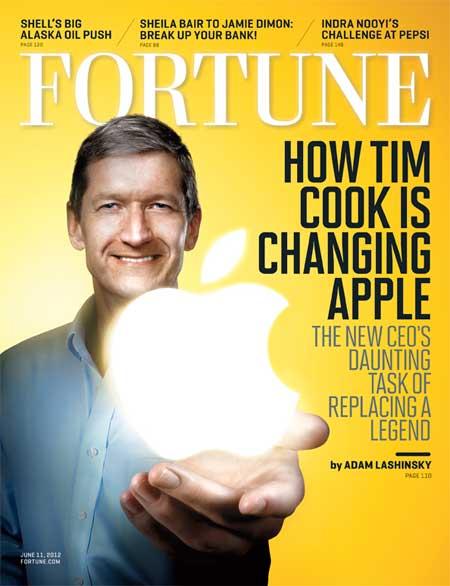 تيم كوك على غلاف مجلة Fortune الامريكية